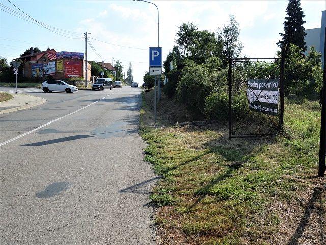 Silnice směr Moravany